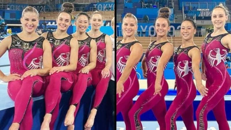 Ολυμπιακοί Αγώνες: Με ολόσωμη εμφάνιση η γερμανική ομάδα γυμναστικής - Δίνουν το δικό τους μήνυμα