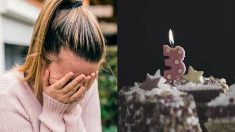 «Σήμερα θα γινόσουν 3 χρονών, αλλά δεν είσαι κοντά μου. Γιορτάζεις με τους αγγέλους»