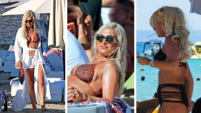 Αρετουσάριστες φωτογραφίες της Μαρίνας Πατούλη: Στα 53 της με μικροσκοπικά μαγιό!