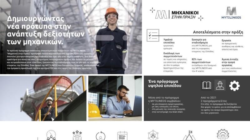 MYTILINEOS - «Μηχανικοί στην Πράξη»: Ξεκίνησαν οι αιτήσεις για το νέο Πρόγραμμα που θα επαναλαμβάνεται κάθε εξάμηνο