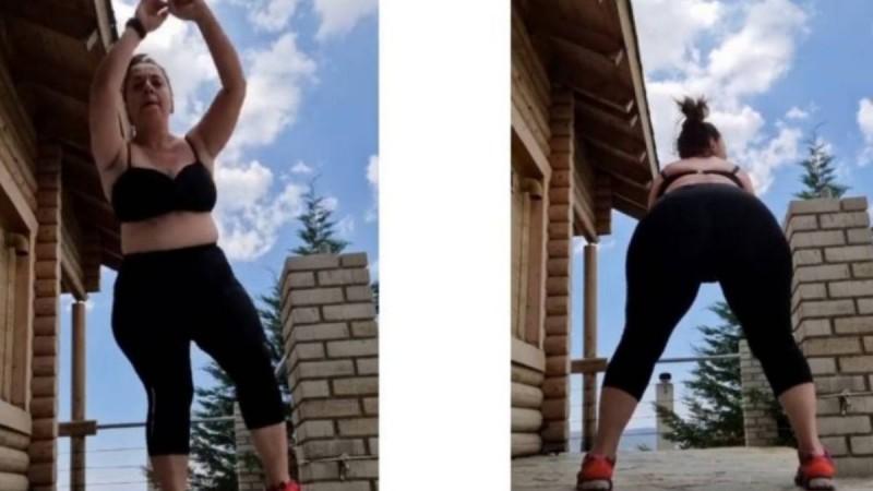 Τρέλα Σοφία Μουτίδου: Ανέβασε βίντεο με σουτιέν κουνώντας τα οπίσθιά της!