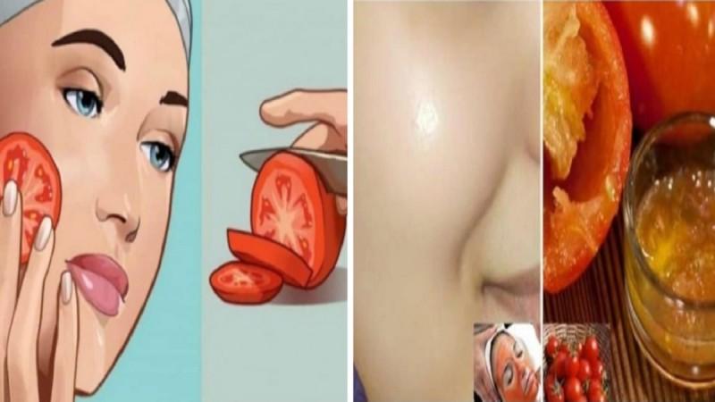 Τρίψτε μια φέτα ντομάτα στο πρόσωπο σας και αυτό μπορεί να είναι το αποτέλεσμα!
