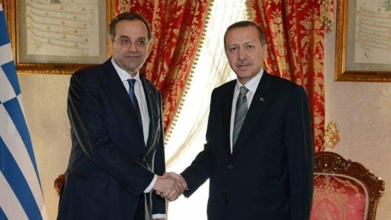 Σαμαράς: «Ο διάλογος με τον Ερντογάν δεν έχει κανένα νόημα»