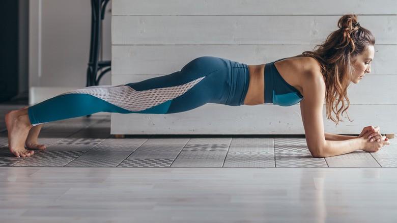 σανίδα άσκηση γυμναστικής