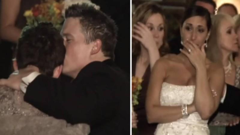 Η ανάπηρη μητέρα δεν μπορεί να χορέψει στον γάμο του γιου της. Τότε ο γαμπρός σκέφτηκε κάτι μοναδικό!