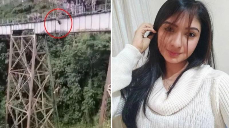 Φρικτός θάνατος για 25χρονη: Ετοιμαζόταν για bungee jumping και πήδηξε πριν την δέσουν! (Video)