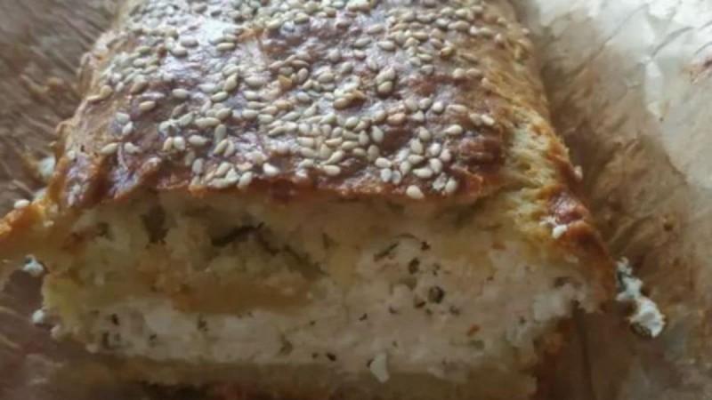 Λαχταριστή τυρόπιτα κουρού με τυρί κρέμα - Έτοιμη στο πι και φι