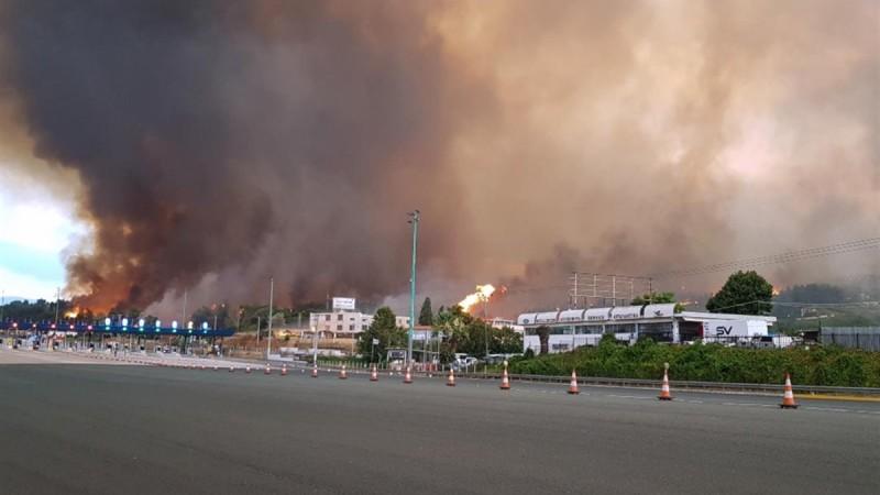 Αττική Οδός: Αναστολή διοδίων για την διευκόλυνση των πυρόπληκτων