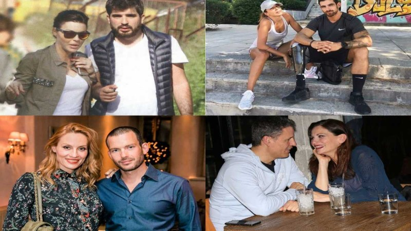 6+1 διάσημοι Έλληνες που ερωτεύτηκαν και παντρεύτηκαν μεγαλύτερές τους