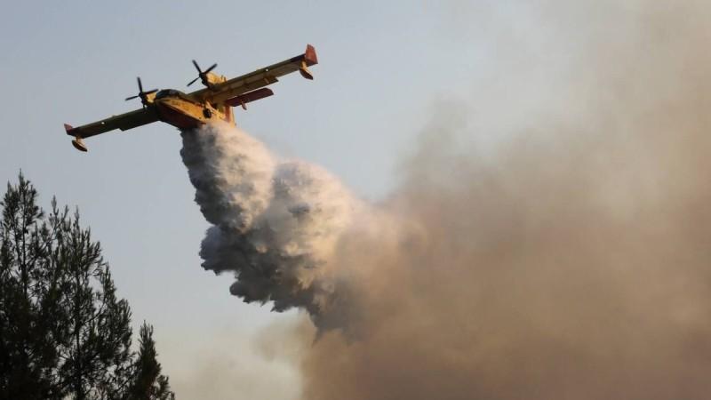 Φωτιές: Έρχονται εναέρια μέσα - Βοήθεια από Γαλλία, Ρουμανία και Ελβετία στη μάχη της κατάσβεσης