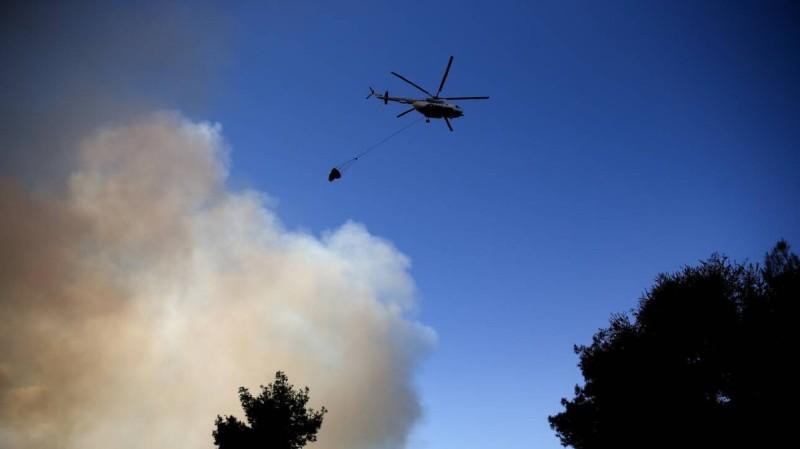 Φωτιά και στη Μεσσηνία: Πυρκαγιά στην περιοχή Μέλπεια