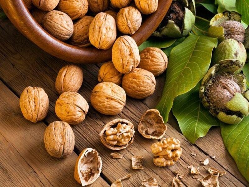 υγιεινές τροφές καρύδια