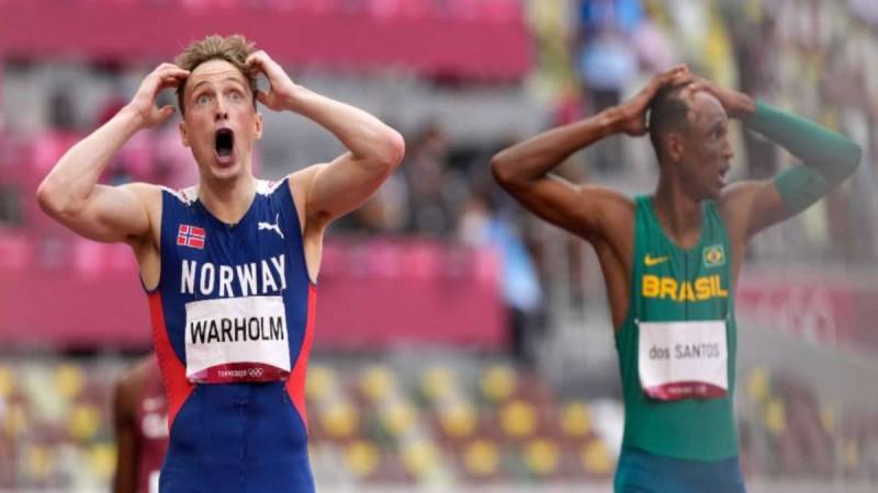 Ολυμπιακοί Αγώνες: Η κούρσα του αιώνα στα 400 μ. με εμπόδια - Κατέρριψε το Παγκόσμιο Ρεκόρ - Δείτε το συγκλονιστικό βίντεο