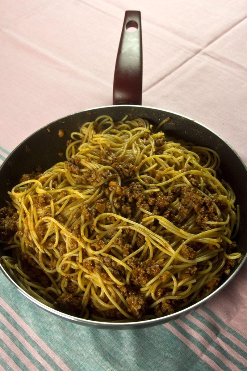 Μακαρόνια με κιμά - Η γρήγορη συνταγή Al caruso