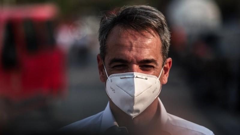 Κυριάκος Μητσοτάκης για πυρκαγιές: Η πολιτεία θα σταθεί δίπλα στους πολίτες
