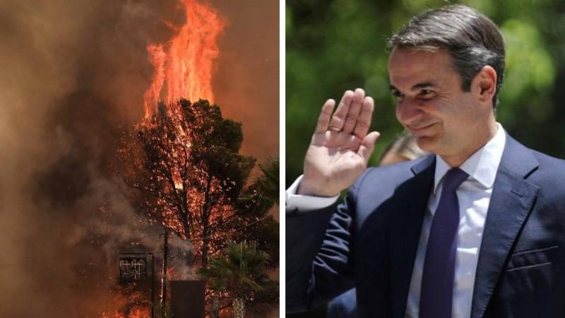 Κυριάκος Μητσοτάκης: Στη Βαρυμπόμπη ο πρωθυπουργός!