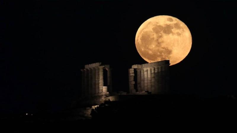 Πανσέληνος Αυγούστου: Ελεύθερη είσοδος σε μνημεία και αρχαιολογικούς χώρους