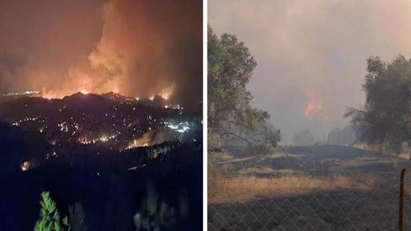 Πύρινη κόλαση στη Ρόδο: Μαίνεται ανεξέλεγκτη η φωτιά! Μάχη σε τρία μέτωπα