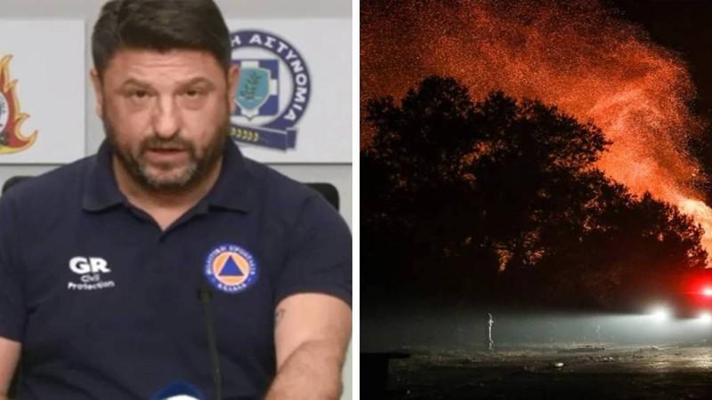 Νίκος Χαρδαλιάς για την φωτιά στη Βαρυμπόμπη:
