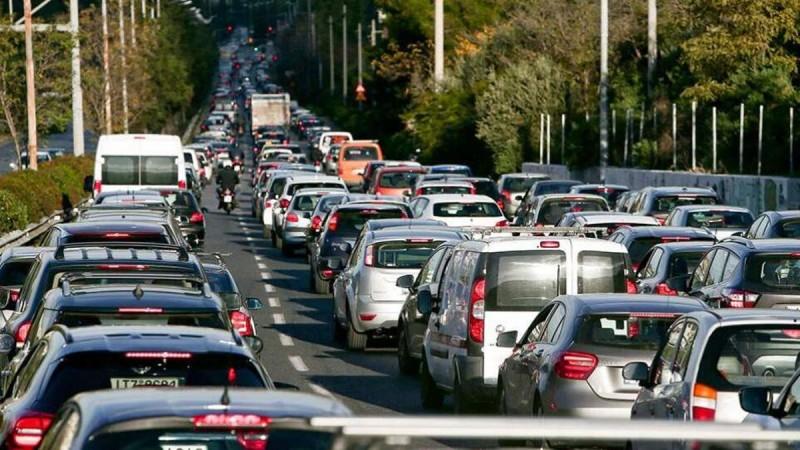 Κίνηση στους δρόμους: Μποτιλιάρισμα στον Κηφισό - Ποιες περιοχές είναι στα