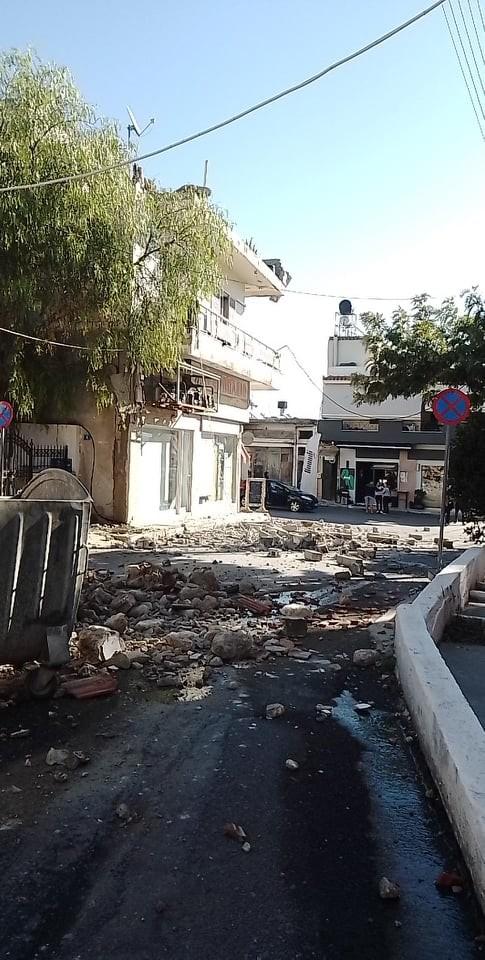 Συνεχείς μετασεισμοί στη Κρήτη: Ζημιές σε σπίτια, εσπασαν τζάμια!