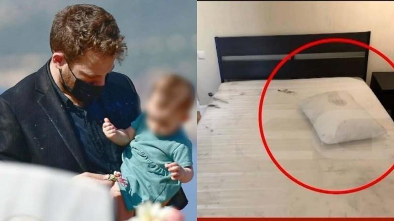 Γλυκά Νερά: Ανατριχιαστικές εικόνες από το κρεβάτι που σκότωσε την Καρολάιν ο Μπάμπης Αναγνωστόπουλος (vid)