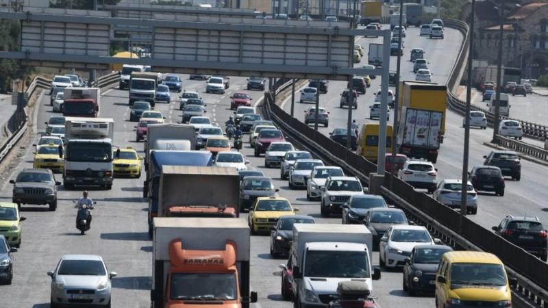 Ασπρόπυργος: Σοβαρό τροχαίο στην Αθηνών - Κορίνθου - Έκλεισε ο δρόμος