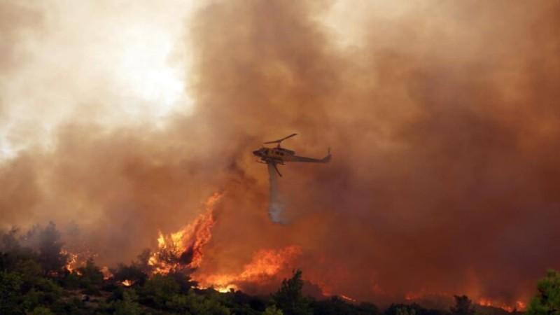 Νέα πυρκαγιά στην Πάρνηθα