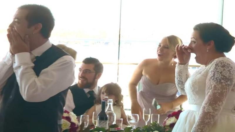 Αυτό που έγινε στον γάμο τους δεν το περίμεναν ποτέ! - Έμειναν έκπληκτοι οι καλεσμένοι