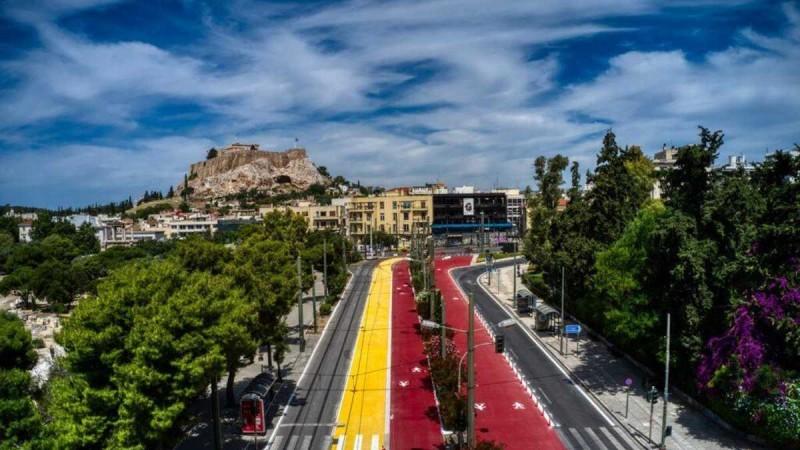 Η φωτογραφία της ημέρας: Καλή εβδομάδα από το υπέροχο κέντρο της Αθήνας