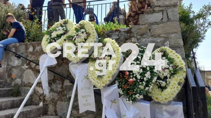 Σεισμός στο Ηράκλειο: Θλίψη στο τελευταίο «αντίο» του 62χρονου – Τραγική φιγούρα ο γιος του