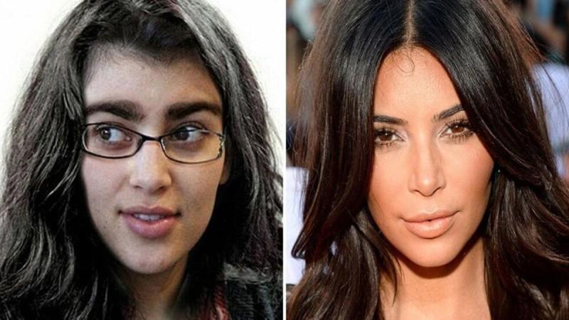 Εικόνες θρίλερ: Πως ήταν πριν τις πλαστικές η Kim Kardashian!