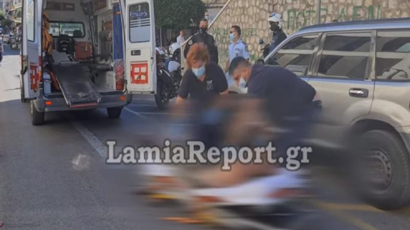 Σκηνές τρόμου στη Λαμία: Έκοψε τις φλέβες του και προσπάθησε να γράψει το όνομα της αγαπημένης του σε φαρμακείο! (Video)