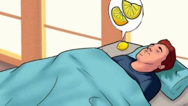 Τι θα συμβεί στο σώμα σας, αν κοιμάστε με ένα κομμένο λεμόνι πάνω στο κομοδίνο