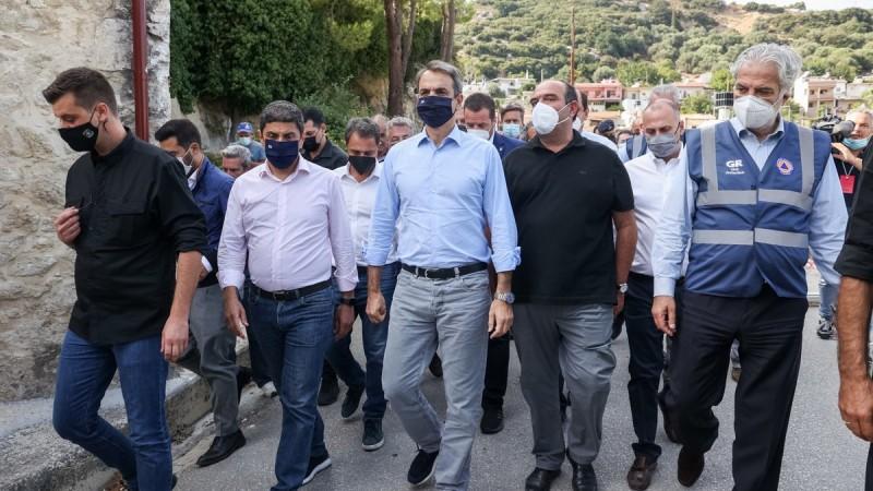 Μητσοτάκης από Κρήτη: Μέτρα τύπου Εύβοιας για τους σεισμόπληκτους – Δεν θα πληρώσουν ΕΝΦΙΑ έως το 2023