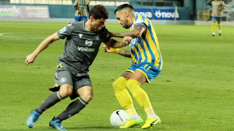 Super League – Γήπεδο Παναιτωλικού: Χωρίς τέρματα ολοκληρώθηκε το πρώτο ημιχρόνο