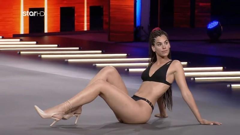 GNTM 4: Η πανύψηλη Ραφαέλα ξεσήκωσε τους κριτές με τους latin χορούς της και πήρε 4 «ναι»