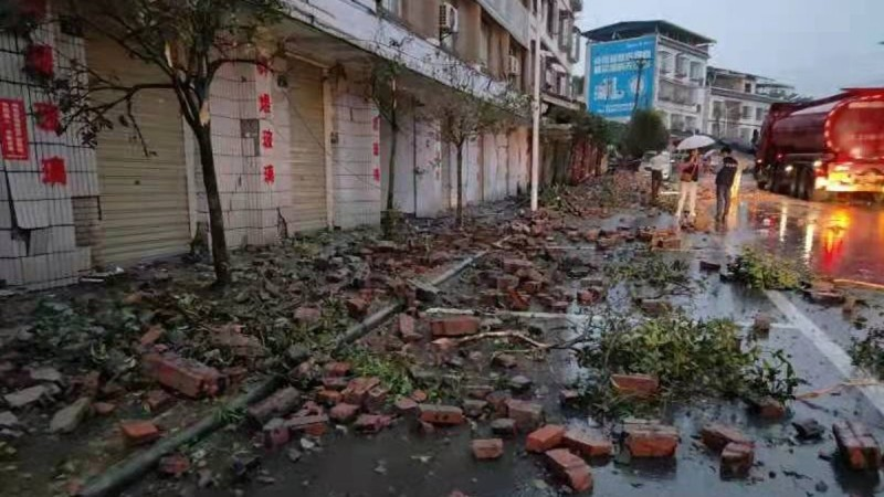Τραγωδία στην Κίνα: Ισχυρός σεισμός 5,4 Ρίχτερ - Δύο νεκροί (video)