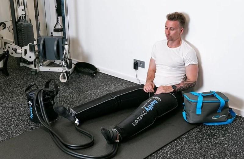 πρεσσοθεραπεία με μπότες αποκατάστασης