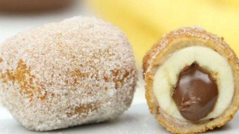 Τηγανητή μπανάνα με νουτέλα: Καταπληκτική και πανεύκολη συνταγή που θα λατρέψετε