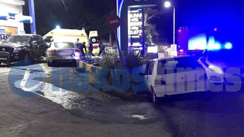 Νάξος: Σοκαριστικό τροχαίο με τρία οχήματα - Ακρωτηριάστηκε οδηγός