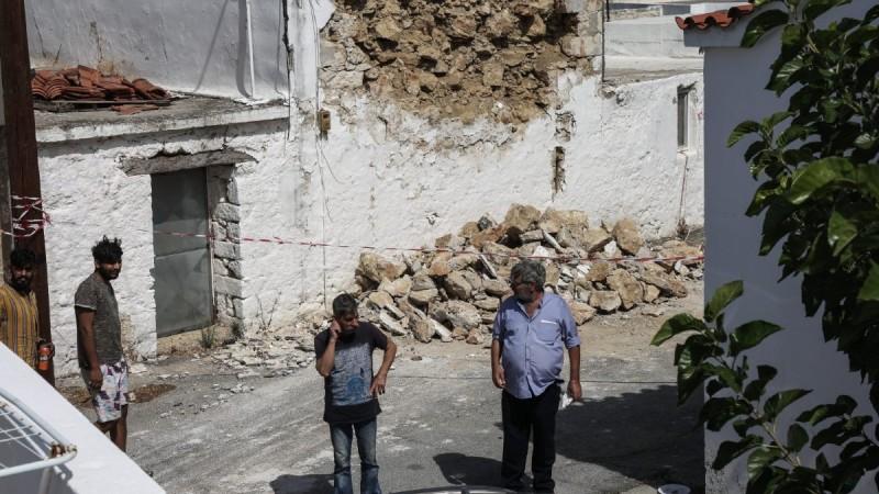 Κρήτη: Κρούσματα γαστρεντερίτιδας σε άστεγους σεισμοπαθείς