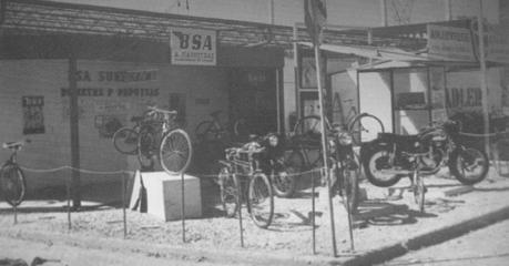 width= Το πρώτο συνεργείο μοτοσυκλέτας της Ελλάδας